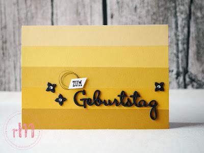 Stampin' Up! rosa Mädchen Kulmbach: Geburtstagskarten mit Framelits Schön geschrieben, Gut gesagt und Papierresten
