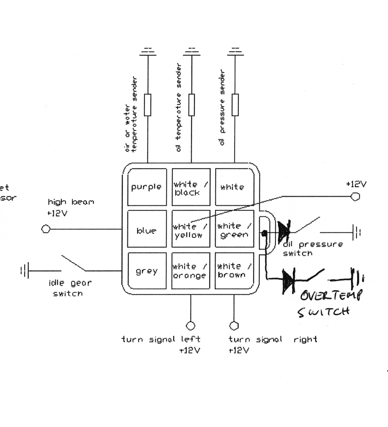 small resolution of k75 re wiring my bmw k75 retro customization bmw k75 wiring diagram bmw k100 wiring loom