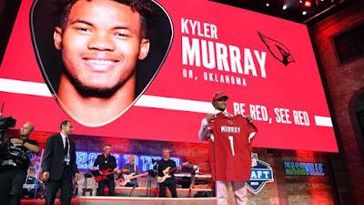 FÚTBOL AMERICANO - Kyler Murray se convierte en el Draft 2019 en el primer jugador que es 1ª Ronda en la NFL y en la MLB. JJ Arcega-Whiteside es el primer español en un Draft