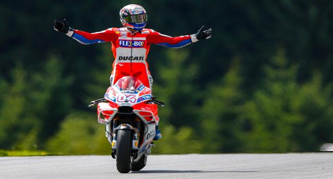 Tekad Membara Andrea Dovizioso Bersama Ducati Rebut Gelar Juara Dunia Dari Tangan Marc Marquez...!!