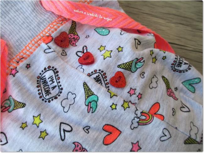 Primark - Pantalón de pijama con unicornios, arco iris y helados