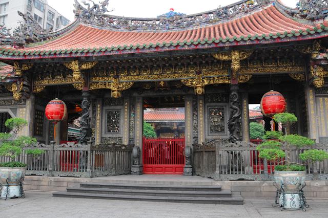 Tempolo Long Shan - Taipei - Taiwan - que visitar