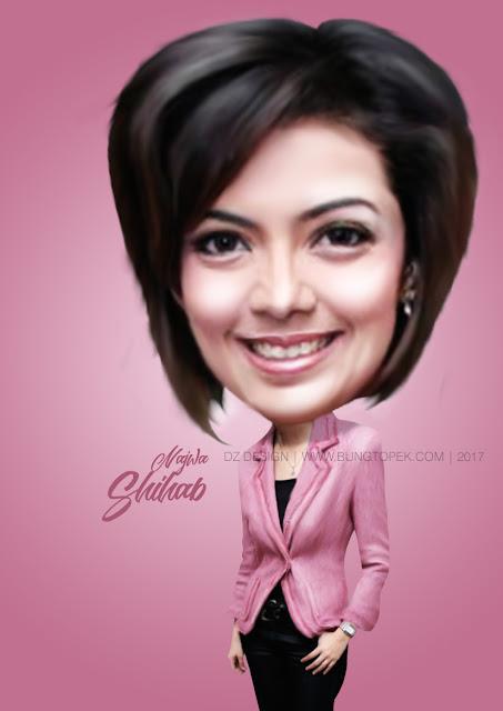 Karikatur Najwa Shihab