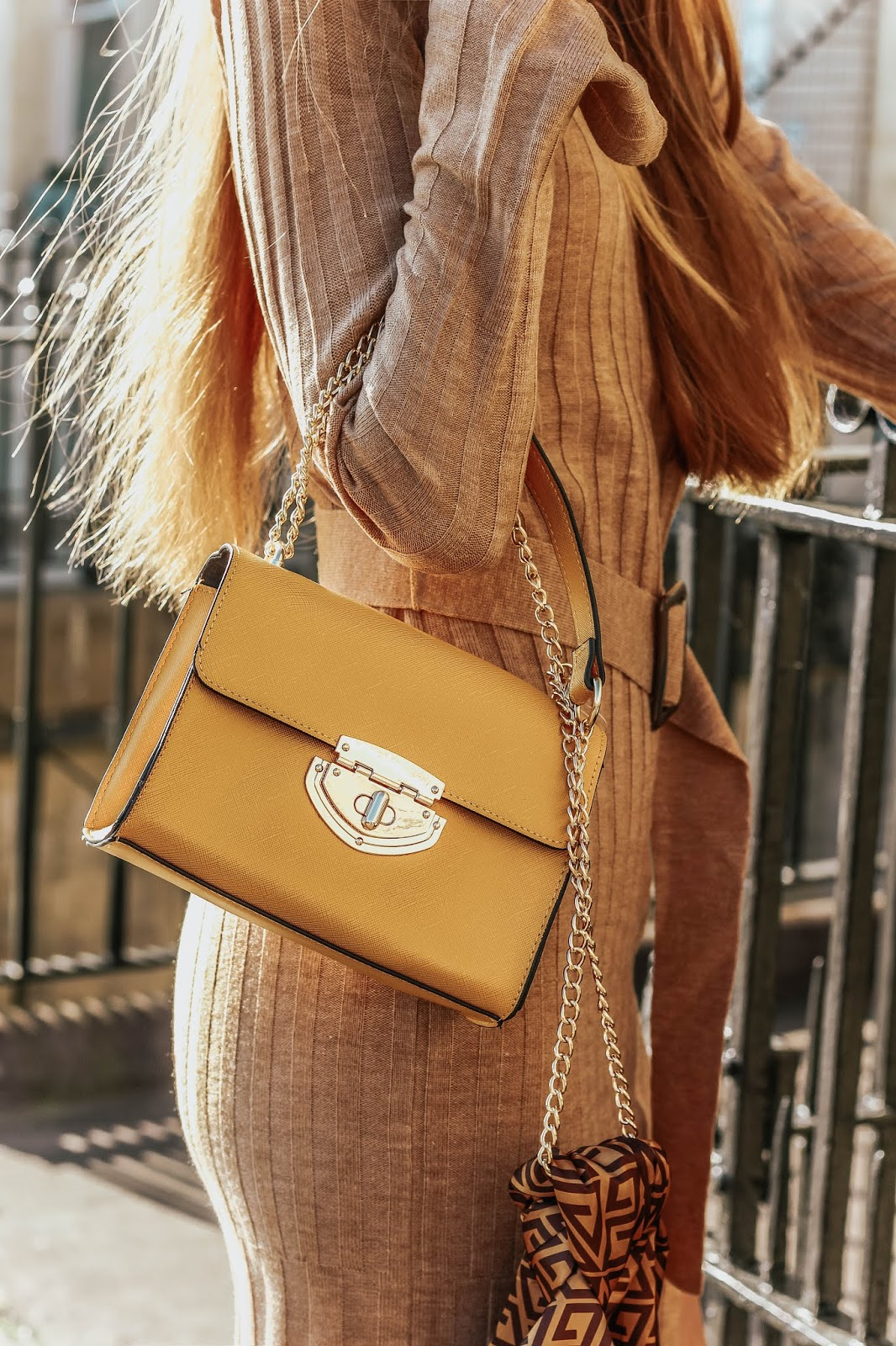 dorothy perkins yellow lock handbag 2019