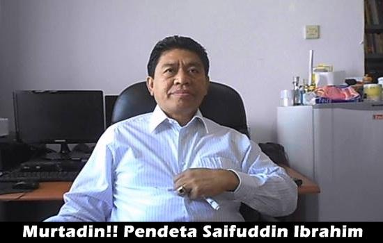 Saifuddin Ibrahim Sang Penghina Islam Akhirnya Diringkus