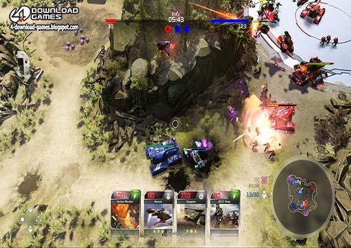 لعبة هالة الحروب Halo Wars 2 Blitz Beta