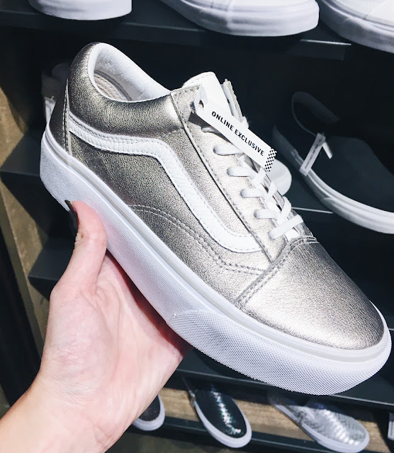 Metallic Vans Old Skool