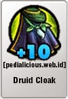 Rare Gear LostSaga Druid Cloak / Dryad Cloak