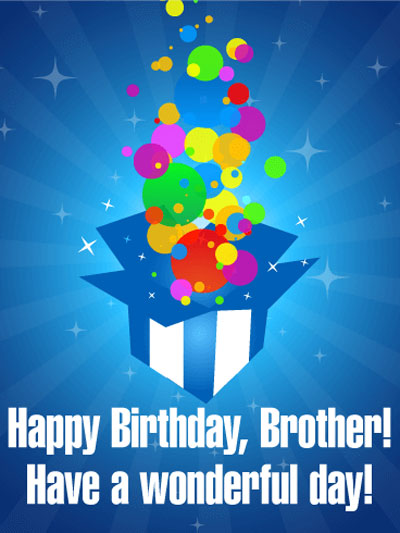 Best Birthday Wishes | Quotes | Messages and Images for  Younger Brother form Brother or Sister