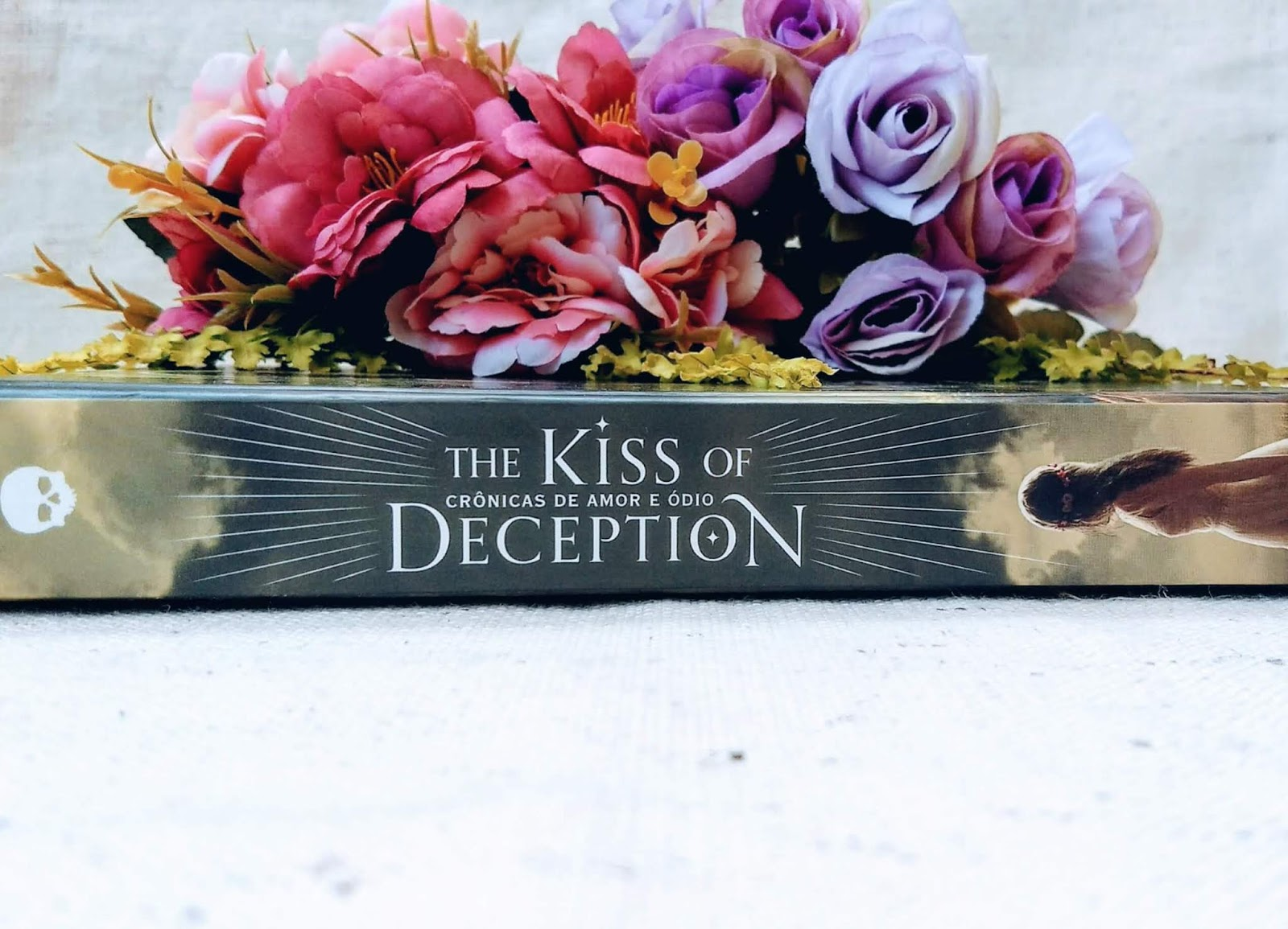 Resenha do livro: The kiss of deception