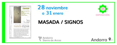 Masada / Signos en Andorra