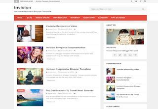 invision blogger teması