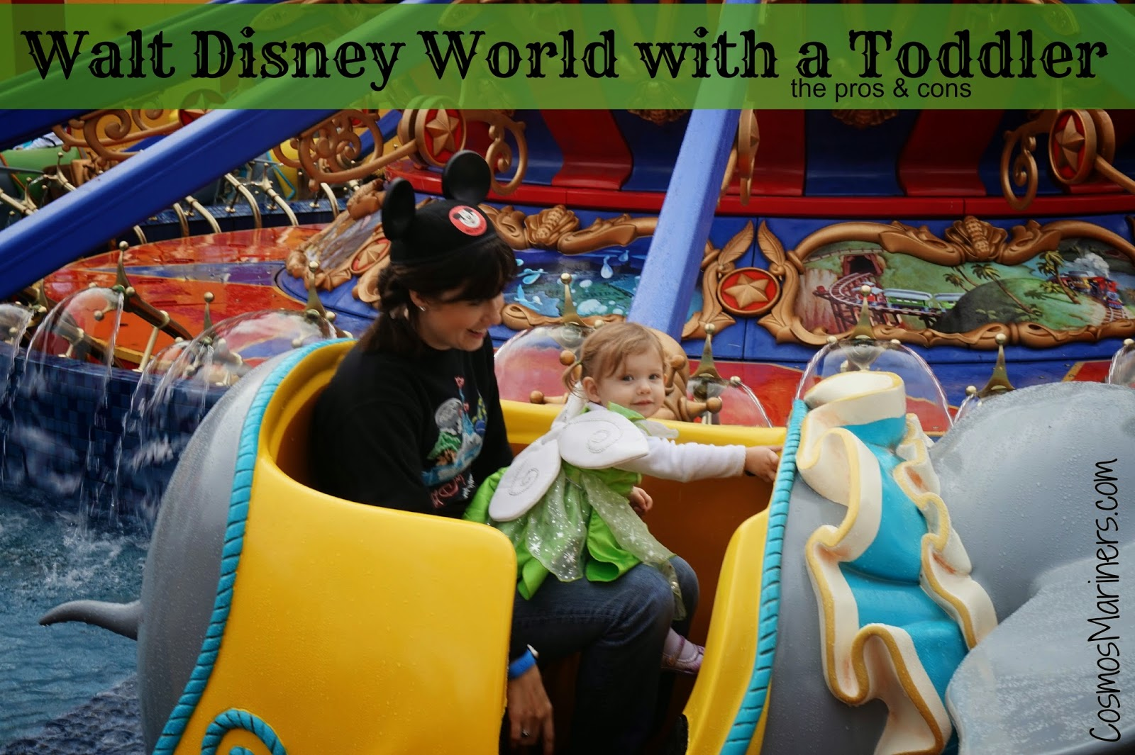 Should You Visit Walt Disney World with a Toddler? | The Pros and Cons of an Early Visit
