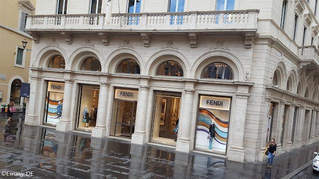 Shopping @ Fendi in Rome ~ Italy by ©Emmy DE