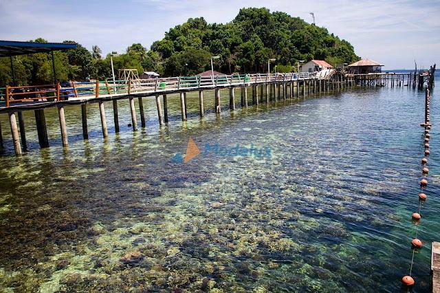 Iklan Promosi Kepri Resort Labun Island Pulau Labun Jernih Snorkeling Diving