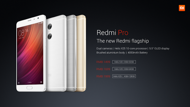 Xiaomi Redmi Pro Design