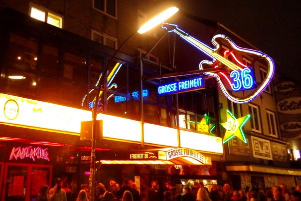 Hamburg, St Pauli, Grosse, Freiheit, Kiez, Ausgang