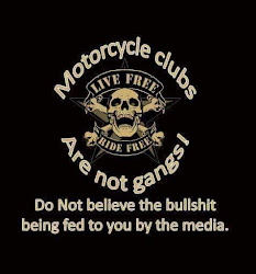 MC CLUBS ARE NOT GANGS