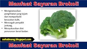 Manfaat Sayuran Brokoli