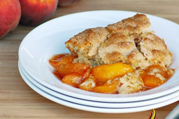 The Slow Roasted Italian Peach Dump Cake