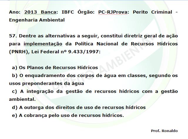 Questão IBFC