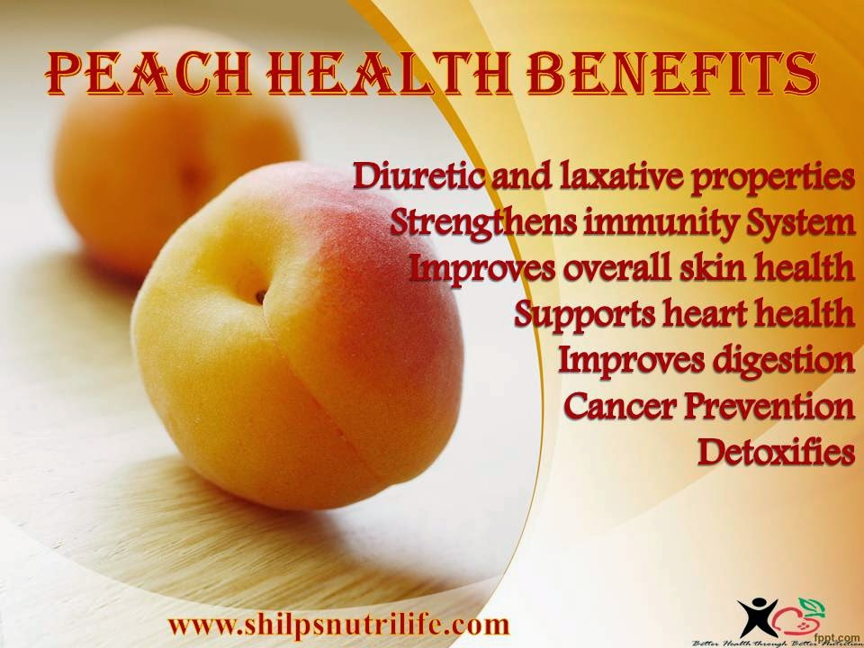 DIET WHAT IT REALLY MEANS!!!!!!!!: Peach Health Benefits