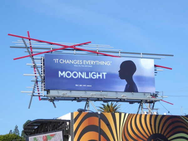 Moonlight Oscar consideration billboard