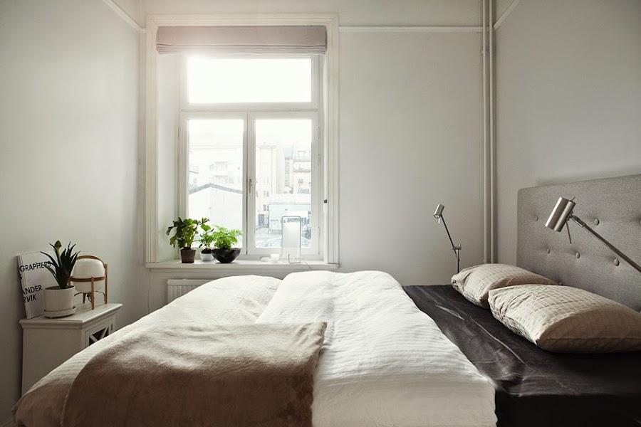 6 claves para decorar un dormitorio con poca luz | Decoración