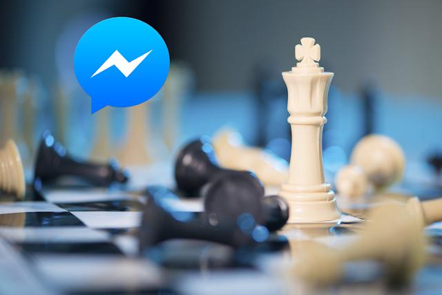 فيسبوك مسنجر يحتوي على لعبة شطرنج