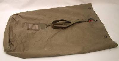 Webbingbabel  Dutch Army Duffel Bag - KL Leger Plunje Zak - leger ... fed131950d823