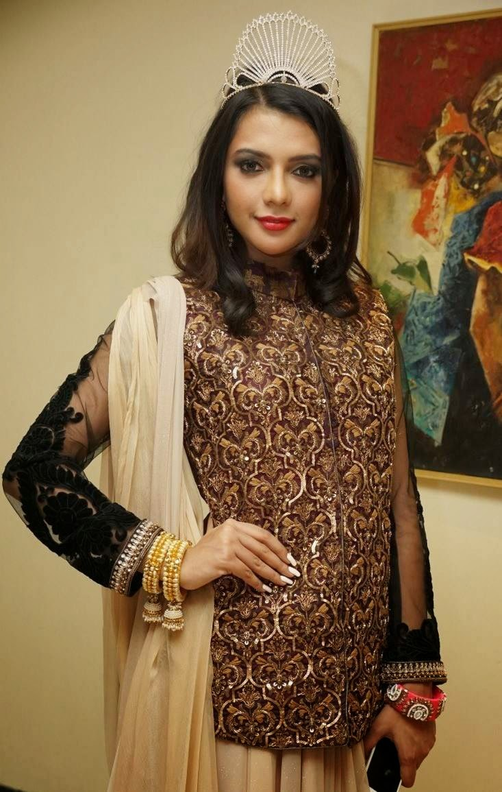 Actress Ruhi Singh Latest Cute Hot Exclusive Designer Dress Spicy Photoshoot Gallery