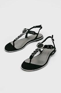 Tamaris - Sandale negre de firma