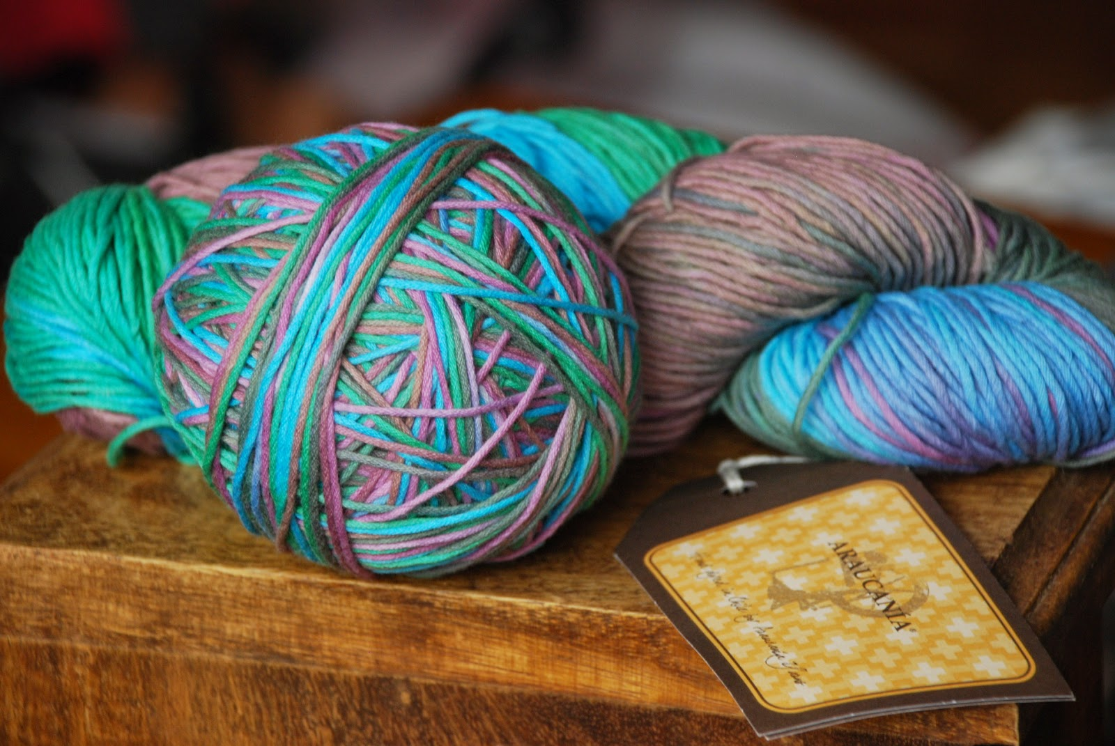 image of Araucania yarn