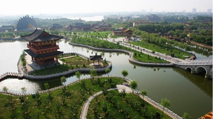 สวนชิงหมิงชานเหอ (Qingming Shanghe Garden) @ Best China Scenery