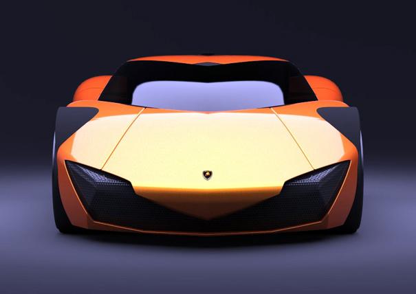 Lamborghini Minotauro - Futuristic Design Cars
