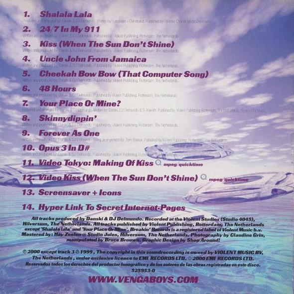Euro Singles 90 : Vengaboys – The Platinum Album
