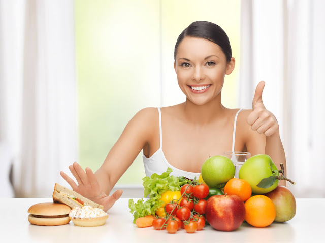 Healthy Food for Healthy Woman