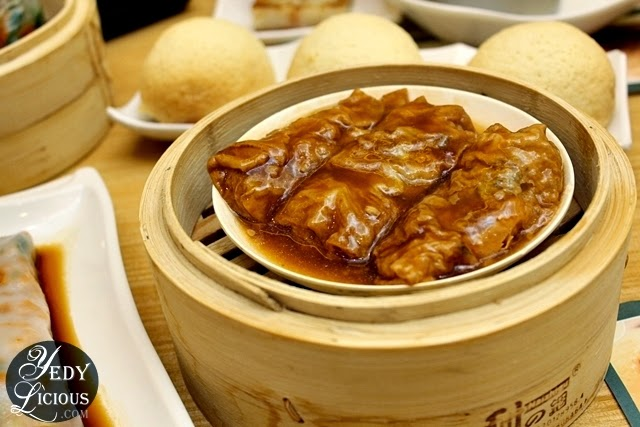 Bean Curd Skin with Pork and Shrimp at Tim Ho Wan Philippines