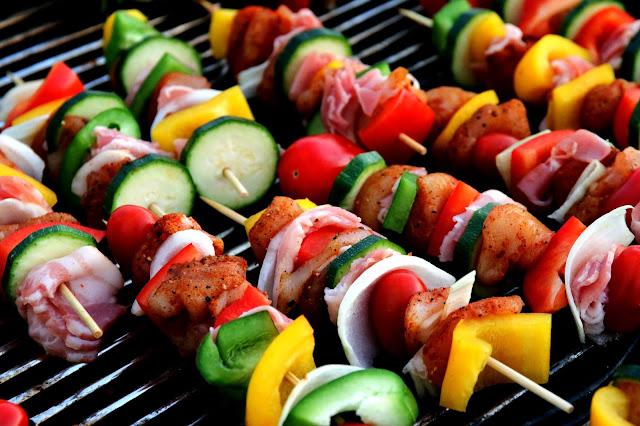 Zero-oil Chicken Kebabs