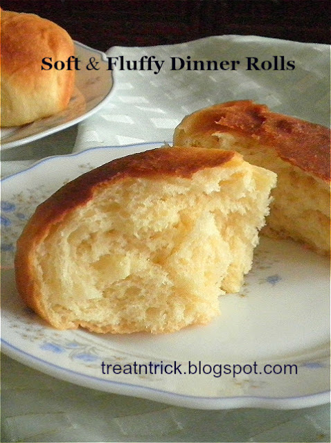 Yeast Rolls Recipe @treatntrick.blogspot.com