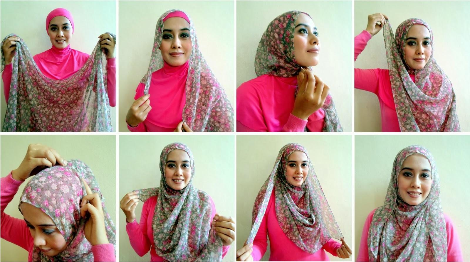 Tutorial Hijab Terbaru 2014 Jilbab Hijaber