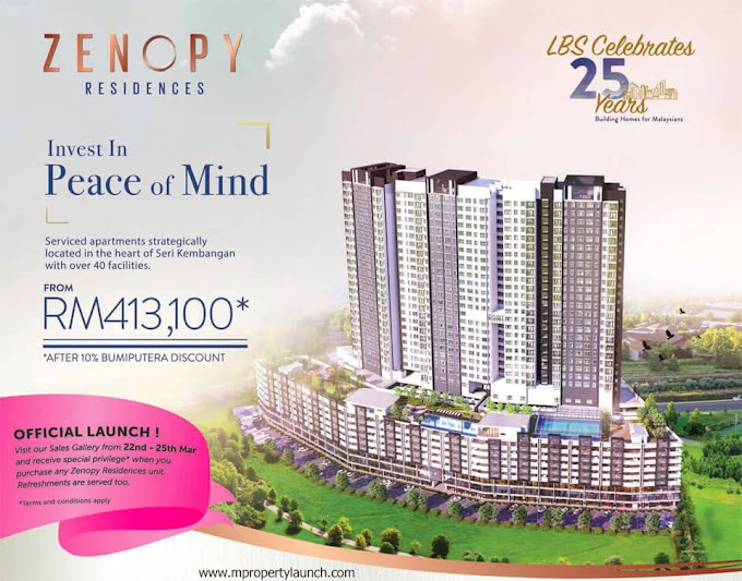 Zenopy Residences, New Service Apartment in Seri Kembangan