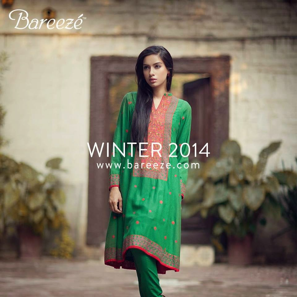 cedc40232b51 Bareeze Winter Collection 2014-15 For Women