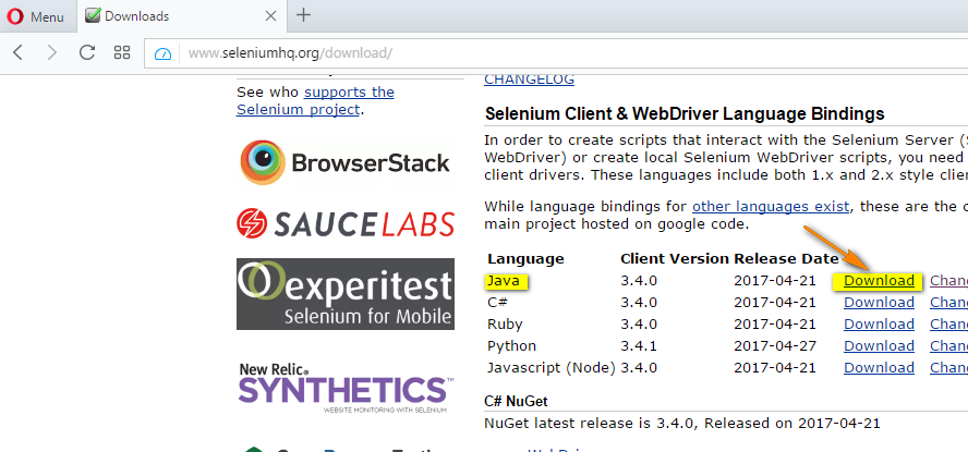 Selenium 3 - Executing automation scripts on Firefox browser using