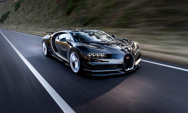 Bugatti Chiron: de 0 à 400 km/h em menos de 60 segundos