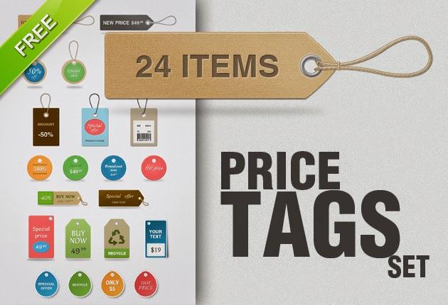 PSD Price Tags