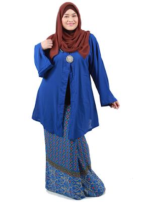 Model Baju Muslim Untuk Orang Gemuk Lebaran 1