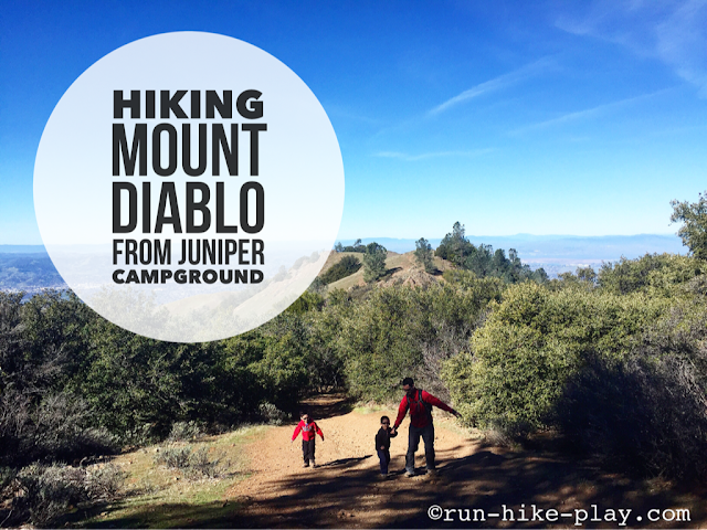 Hiking Mt. Diablo From Juniper Campground