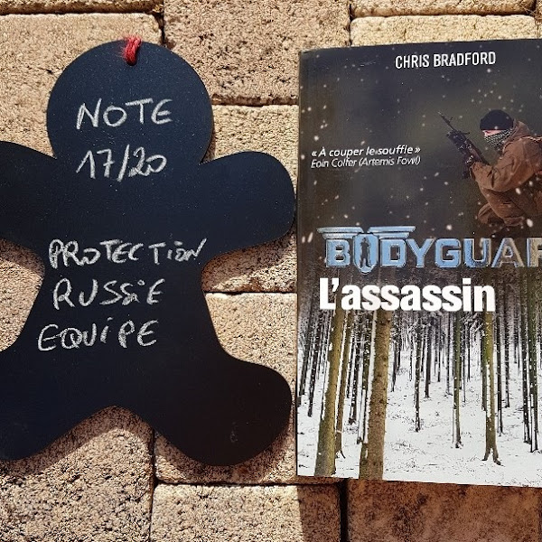 Bodyguard, tome 5 : L'assassin de Chris Bradford