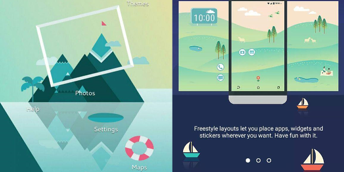 HTC Sense 8.0 UI Leaks, Will Arrive with 'Freestyle' Home Screen Layouts